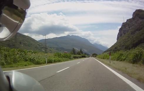 Trento – lungo lago di Garda in moto